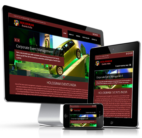 Responsive Website Designing & Development