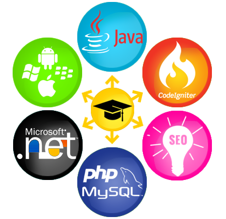 PHP, JAVA, Dot Net, SEO, Codeigniter Training