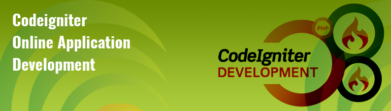 Codeigniter Online Application Development